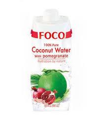 Foco Uht Coconut Watr With Pomegranate 500ml
