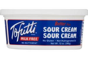 Tofutti Sour Cream 12oz