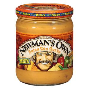 Newman's Salsa Con Queso 16oz