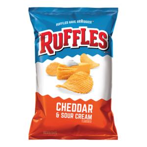 Ruffles Cheddar And Sour Cream 7.6oz
