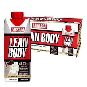Labrada Protein Shake Strawberry 12x500ml