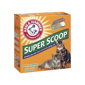 Arm & Hammer Super Scoop Clumping Litter, Fresh Scent