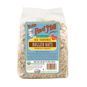 Bob'S Red Mill, Organic Old Fashioned Rolled Oats, Whole Grain 32 oz  907 g