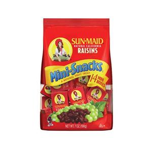 Sun Maid Natural California Raisins 14X14g