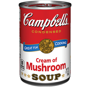 Campbells Soup Cream Of Mushroom 10.5oz