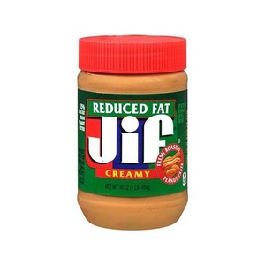 Jif Peanut Butter Reduced Fat Creamy 454gm