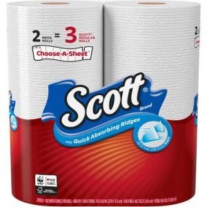 Scott Mega Kitchen Towel 1 Ply 2s