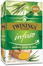 Twinings Infuso Rooibos Ginger&Mint 20s