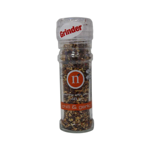 Natural Grinder Chilli & Garlic 6x48g
