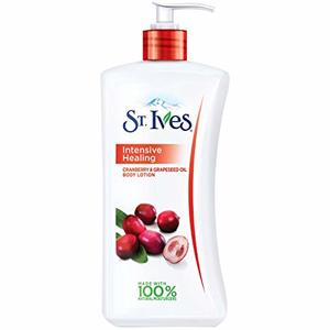 St.Ives Intensive Healing Body Lotion Cranberry & Grapeseed Oil 621ml