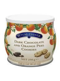 Royal Dansk White Chocolate & Raspberry Cookies 250g