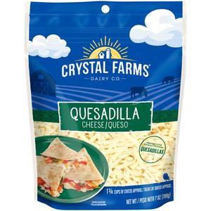 Crystal Farms Shredded Quesadilla 8oz