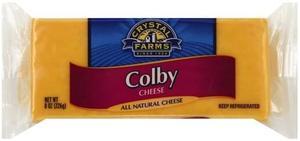 Crystal Farms Bar Colby Cheese 8oz