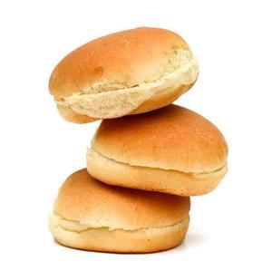 Plain Burger Buns 6pcs