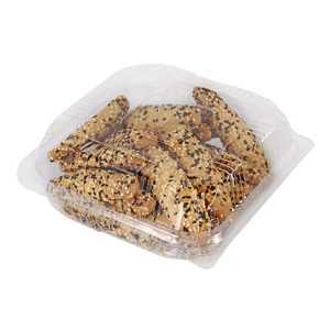 Black Sesame Round Crackers 1pc
