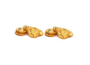 Mix Sesame Round Crackers 1pc