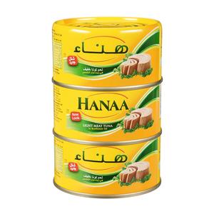 Hanaa Tuna Solid 3x185g
