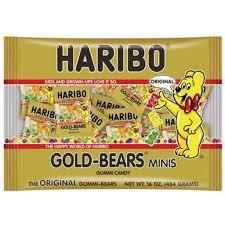 Haribo Gold Bear Minis 200g