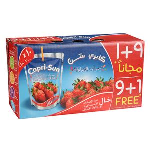 Capri-sun Strawberry Juice 10x200ml