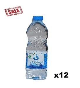 D Cube Water 12x500ml