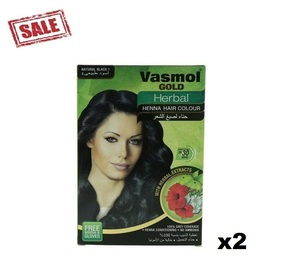 Vasmol Gold Herbal Henna Black 6x10g