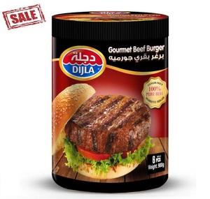 Dijla Gourmet Beef Burger Jumbo 900g