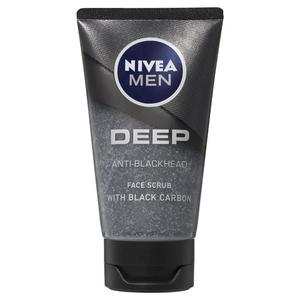 Nivea Men Deep Anti-Blackheads Face Scrub Black Carbon 75ml