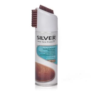 Silver Suede & Nubuck Dark Brown 200ml