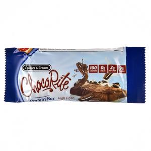 Chocorite Cookies & Cream Protein Bar 34g
