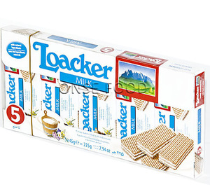 Loacker Milk Multipack 5x45g