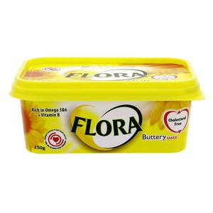 Flora Margarine Buttery 250ml