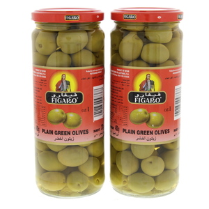 Figaro Olives Green Plain 2x270g