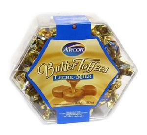 Arcor Toffee Hazelnut Milk 300g