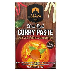De Siam Red Curry Paste 70g