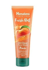 Himalaya Oil Clear Face Wash Peach 100ml