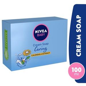 Nivea Baby Caring Cream Soap Calendula Extract 100g