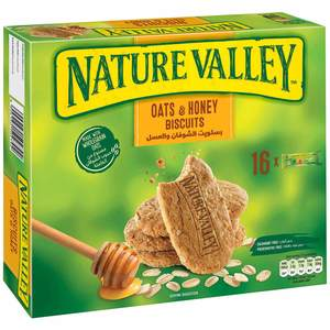 Nature Valley Plain Biscuit Oats & Honey Box 16x25g