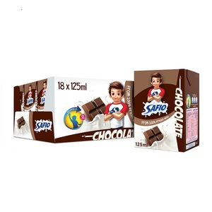 Safio Chocolate Flavor UHT Milk 18x125ml
