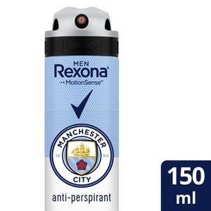 Rexona Men Antiperspirant Deodorant Man City 150ml