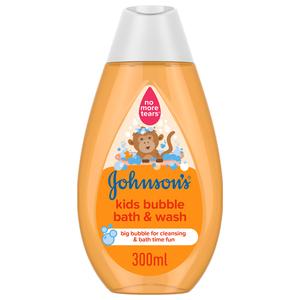 Johnson's Kids Bubble Bath & Wash 300ml