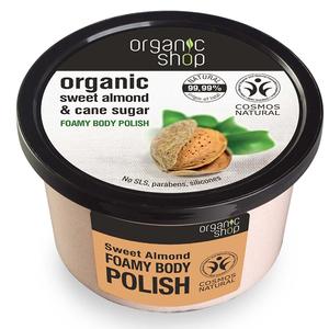 Organic Shop Foamy Body Plash Sweet Almond 250ml
