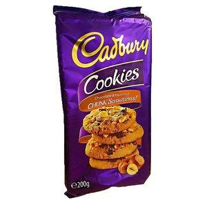 Cadbury Choco & Hazelnut Chunk Cookies 200g