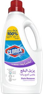 Clorox Clothes Original Liquid White Clothes Supreme Whitener 100% Stain Removal 1.8L