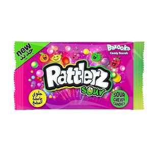 Bazooka Rattlerz Sour Candies 40g