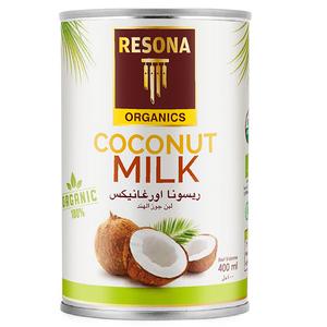 Resona Organic Coconut Milk 400ml
