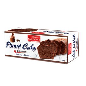 Eurocake Sliced Pound Cake Choco 230g