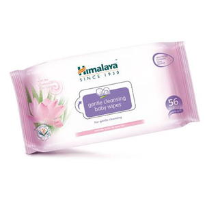 Gentle Cleansing Baby Wipes 56s