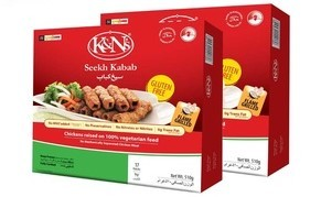 K&N's Chicken Seekh Kabab 510g