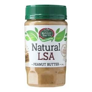 Mother Earth Peanut Butter Lsa Blend Natural 380g