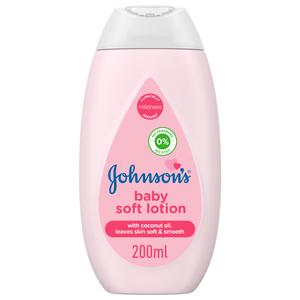 Johnson's Baby Soft Lotion 200ml